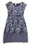 WHITE STUFF PURPLE FLORAL ABSTRACT PATTERN LINED SHIFT TEA DRESS SIZE 8 10 12 UK
