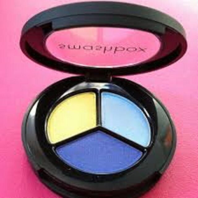 Smashbox Photo Op Eyeshadow Trio Shade Electro Lime Tropical Cobalt
