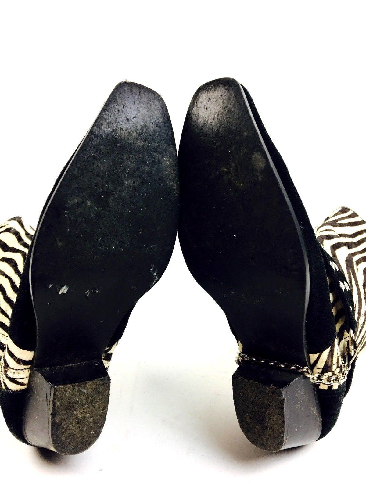 Zebra Cowboy Boots Women's Shoes Women's Boots He… - image 7