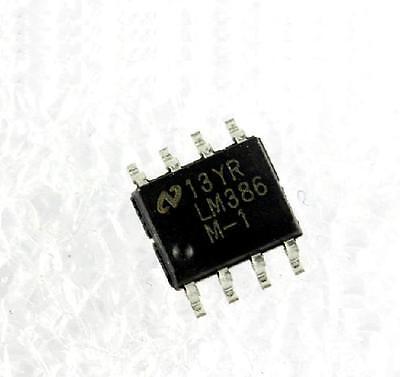 10PCS LM386 LM386M-1 IC AMP AUDIO PWR .325W AB 8SOP NSC NEW DATE CODE:12+