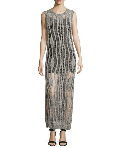 Haute Hippie Knieveless Muscle tröja Dress Gown with Camisole  895 Storlek M