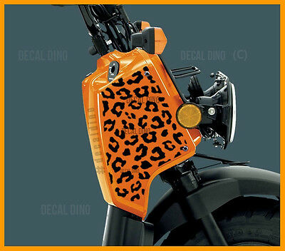 Cheetah Decal Kit - Fits Honda Ruckus Vinyl Graphic Sticker moped cc gy6