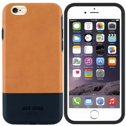 iphone 6 plus price second hand jack spade ny case for iphone plus6s plus color block tan black