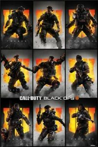 Call-Of-Duty-Black-Ops-4-Characters-POSTER-61x91cm-NEW-Prophet-Seraph-Nomad