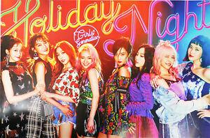 Snsd Girls 'Generation-праздничная ночь [всю ночь вер.] официальный плакат