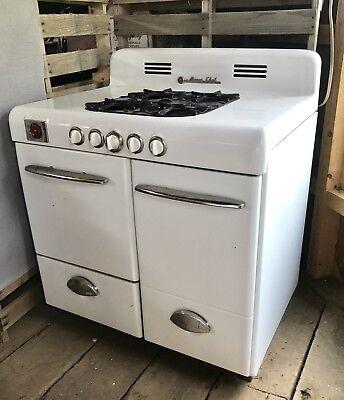 Vintage Magic Chef Gas Stove Oven Mid Century Ebay