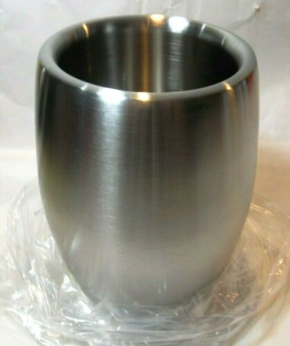 """NEW IN BOX Wine Chiller Stainless Steel Double Wall 8/"""" X 5/"""""""