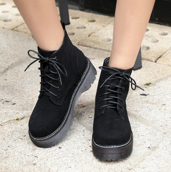 Stiefel elegant niedrig komfortabel 5 cm schwarz simil Leder CW795