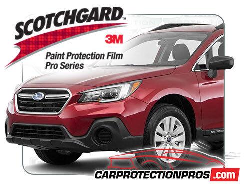 2019 Subaru Outback 3M Pro Series Clear Bra Pre-Cut Front Bumper Protection Kit