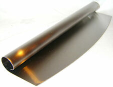 NEW 32cm STAINLESS STEEL MEZZALUNA or LARGE PIZZA CUTTER PRIMA
