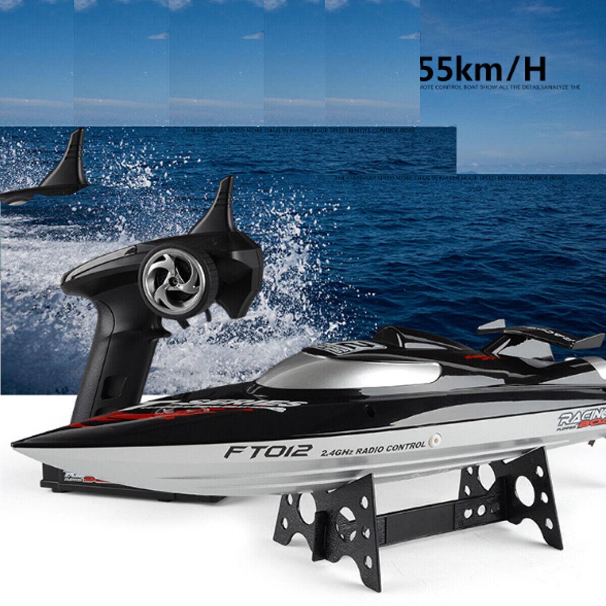 45km H 2.4G Fjärrstyrning Vattenbåt RC Toy High Speed With Battery
