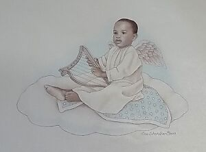 Music For The Soul Lithograph On Canvas Personal Preference Angel