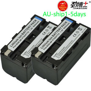 2X-Battery-for-Sony-NP-F330-NP-F550-NP-F570-F530-NP-F750-NP-F970-BYAU