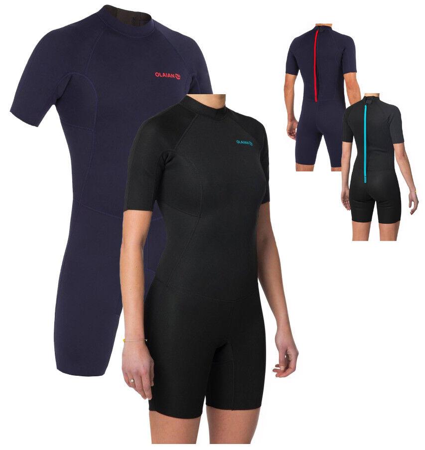 Unisex Wetsuit Surf Suit Diving Suit Shorty Swimsuit S M L XL XXL