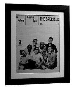 THE-SPECIALS-Do-Nothing-POSTER-AD-RARE-ORIGINAL-1980-FRAMED-EXPRESS-GLOBAL-SHIP