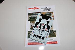 DECALS-1-43-CITROEN-XSARA-WRC-SOLBERG-RALLYE-DU-PORTUGAL-2009-RALLY