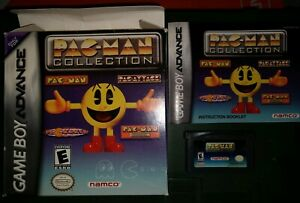 NAMCO-PACMAN-COLLECTION-GBA-USED-NINTENDO-GAMEBOY-ADVANCE-VIDEO-GAME-AUTHENTIC