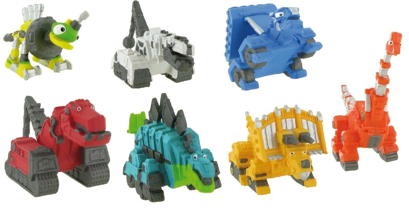 Dinotrux Recyco T-Rux Bullz Repto D-Structs Tacho  Auswahl Spielfiguren Comansi  | Authentisch