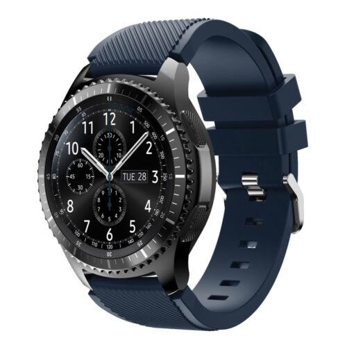 Bracelet en Silicone de Montre pour Samsung Gear S3 Frontier//Classique 22mm