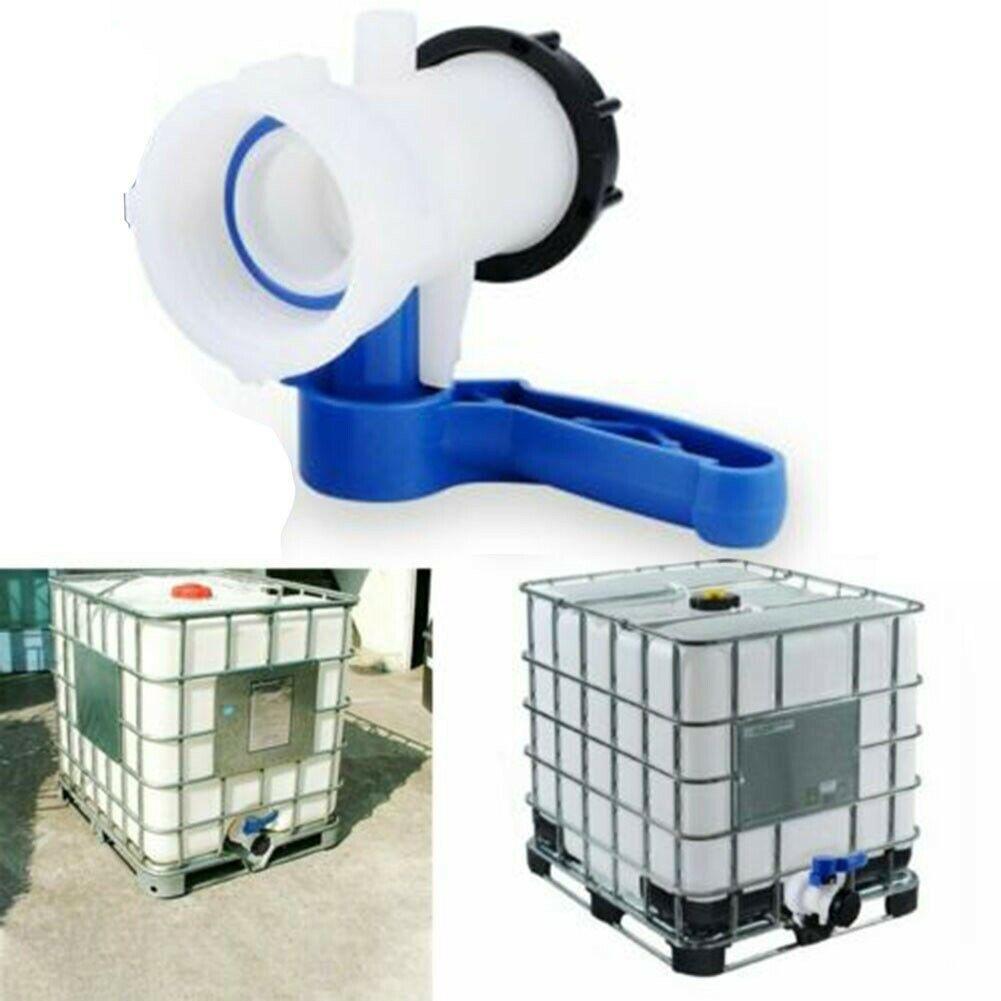 Fpr IBC Tank Adapter DN40 Coarse Thread Drain Container Rainwater Tap Valve UK