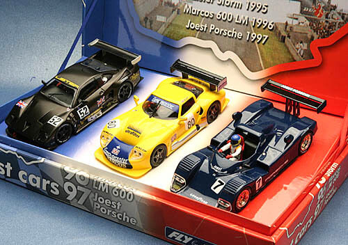 Fly Ref. LM01 96035 LE MANS 1995 96 97 TEST CARS 3 NEW NEW1 32