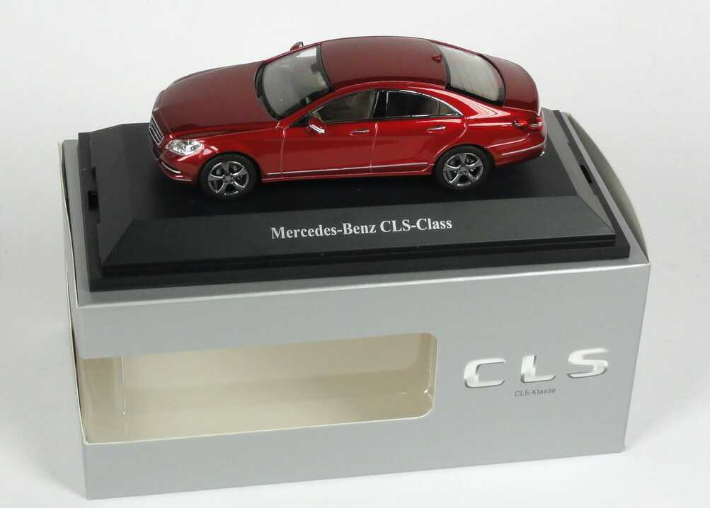 marcas de diseñadores baratos Norev Norev Norev 2012 Mercedes Benz CLS Rojo (distribuidor) 1 43 Rara   artículos de promoción