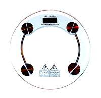 Q&F 2003A Design Glas Personenwaage Digital Waage 180kg /0,1kg - 396lb/0,2lb NEU