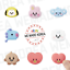 miniature 1 - BT21 Character Silicone Magnet Baby Ver. 7types Official K-POP Authentic Goods