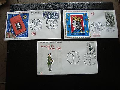 Tag 1967 Ph Auguste/esn Flugzeug/tag Briefmarke Frankreich 3 Umschläge 1 cy85 SpäTester Style-Online-Verkauf Von 2019 50%