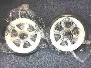 Quinny Moodd  Wheel Back Rear Wheel White Limited foam filled New