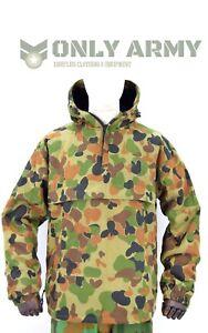 Australian-Army-Field-Jacket-Smock-Fleece-Lined-AUSCAM-Anorak-Heavy-Cotton-Thick