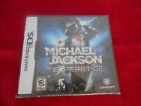 Michael Jackson The Experience Nintendo Ds Factory Sealed Cl