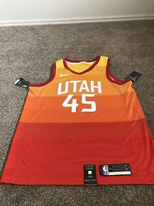 the latest 24b84 7bcec Details about Utah Jazz Donovan Mitchell Jersey City Edition XL (52)