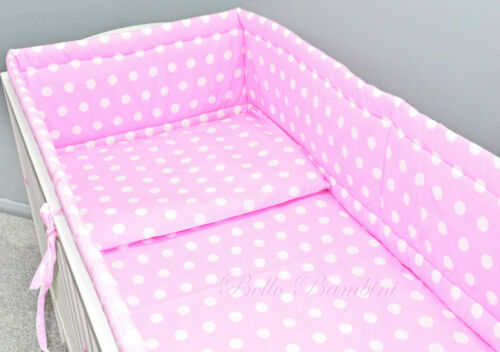 All Round bumper//Nursery Bumper//420//360cm long//Padded 4 Sided// 4 Cot or Cot Bed!