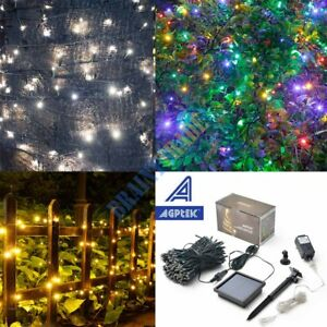 image is loading solar powered 108ft 300 led string fairy lights