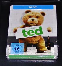 TED MIT MARK WAHLBERG LIMITIERTE STEELBOOK GEPRÄGT BLU RAY NEU & OVP