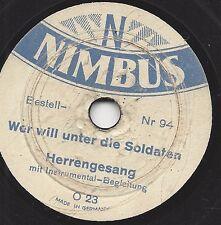 14,5 cm Nimbus gomma lacca: chi vuole sotto i soldati + un cacciatore da Kurpfalz