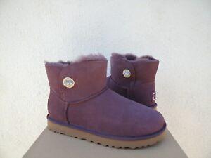 6d31078db7c Details about UGG PORT CLASSIC MINI TURNLOCK BLING SHEEPSKIN BOOTS, WOMEN  US 7/ EUR 38 ~NIB