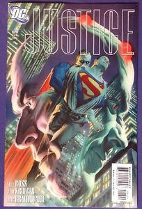 JUSTICE-4-April-2006-9-4-9-6-NM-NM-DC-COMICS-SUPERMAN-ALEX-ROSS-COVER