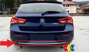 BMW-NEW-GENUINE-1-SERIES-F20-F21-LCI-URBAN-REAR-BUMPER-TRIM-STRIP-CHROME-7371763