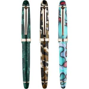 Moonman-S3-Acrylic-Fountain-Pen-EF-F-0-5-mm-0-38-mm-Nib-Gift-Writing-Pen