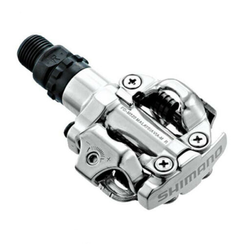 Shimano PD-M520 MTB Mountain Bike Clipless Pedals with SPD Cleats SM-PD22 NIB