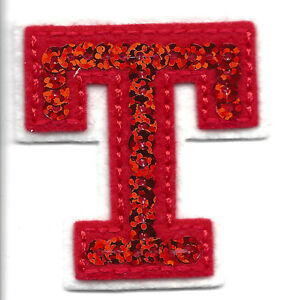 letter applique iron on letters sequin 2 quot letter quot t quot iron on embroidered 8204