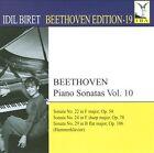 Idil Biret Archive Edition, Vol. 19: Beethoven Edition, Vol. 10 (CD, Mar-2011, IBA [Idil Biret Archives])
