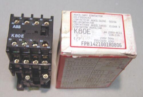 ABB//BBC Schütz K80E  220V 50Hz 220//240V 60Hz  NEU//OVP