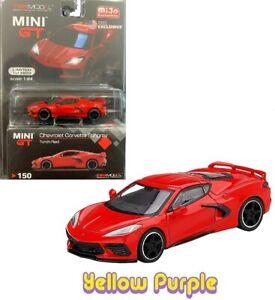TSM-Chevrolet-Corvette-Stingray-Mini-1-64-Gt-Modelo-Diecast-Antorcha-Roja-MGT00150