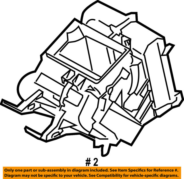 Nissan Oem Ac Ac Evaporator Core 27411zf00a