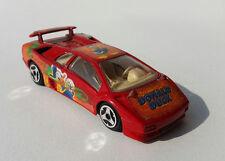 Burago Lamborghini Diablo 1/43 Donald Duck Speed Machines Macchina Car Vintage