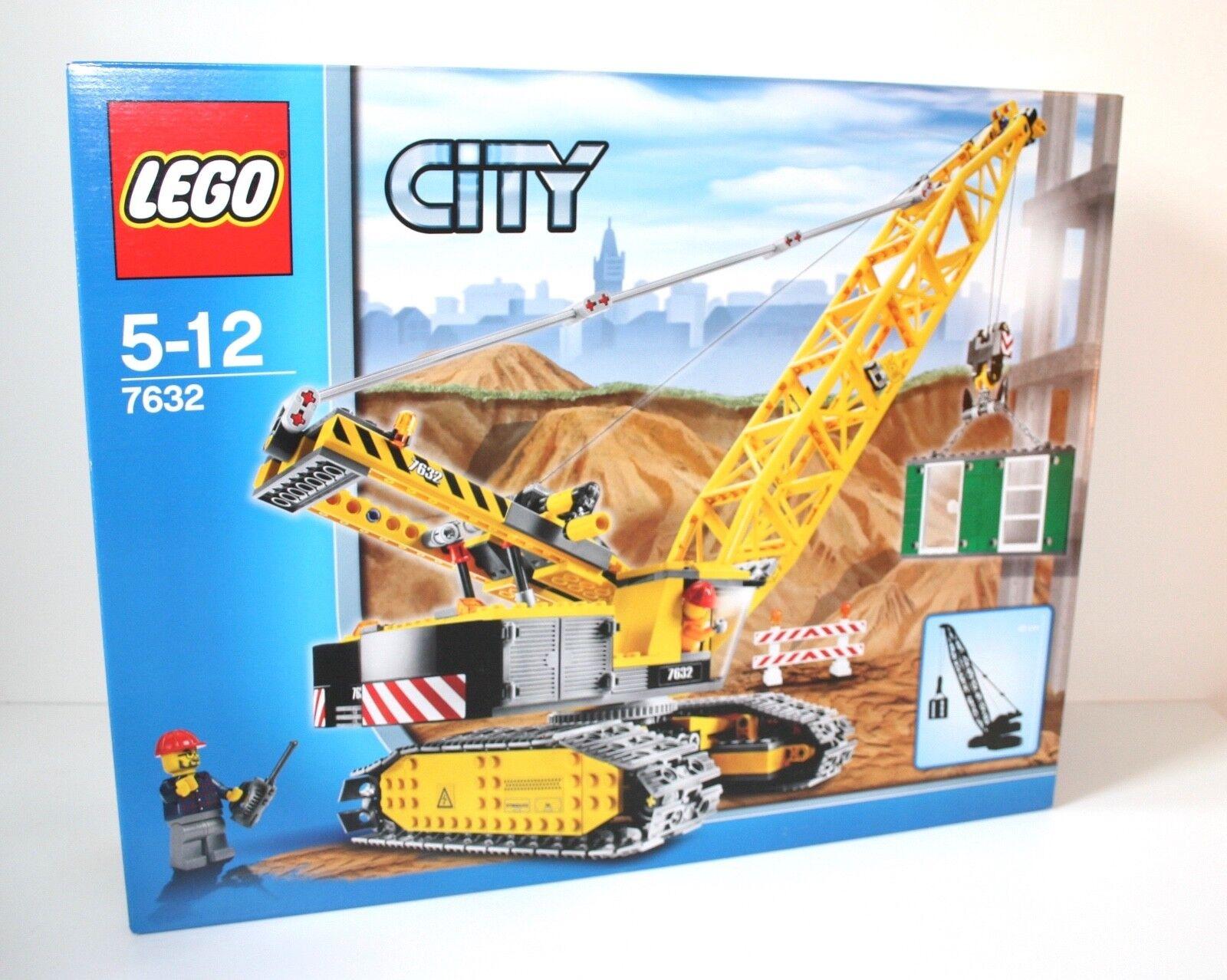 Lego ® City 7632 gran orugas-grúa Crawler Crace obra OVP misb 2009