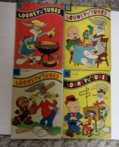 LOONEY TUNES 1950'S LOT DELL 8 BKS SOLID VG AVG.BUGS,FUDD,DAFFY,PORKY,TWEETY